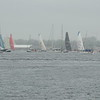 R to L: Team Brunel, Vestas, Scallywag, Turn The Tide, MAPFRE & AkzoNobel