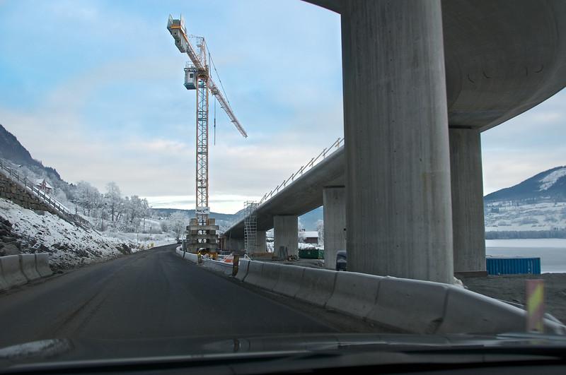 Nytt veganlegg på Kvåle, Voss. 17.01.2013