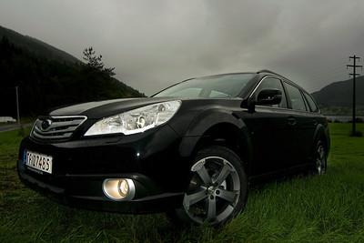 Kjekt med ny bil...!