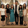 Fr. Vien Nguyen poses with members of the Vietnamese worship community from St. Martin of Tours parish in Franklin, Wis.