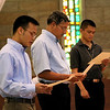 Frater Duy, Br. Clay and Br. Long.