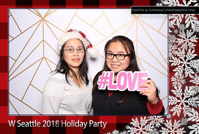 W Seattle 2018 Holiday Party