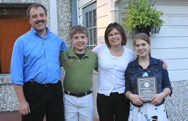 West Ashley Optimist's Club Youth Awards 2012
