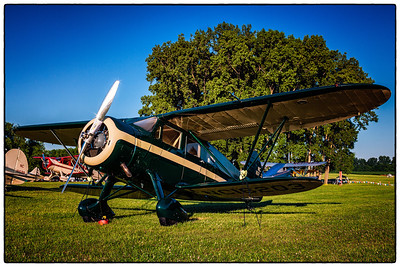 Photo from the 53rd National Waco Club Reunion at Wynkoop Airport in Mount Vernon, Ohio. Shot on morning of June 23, 2012.
