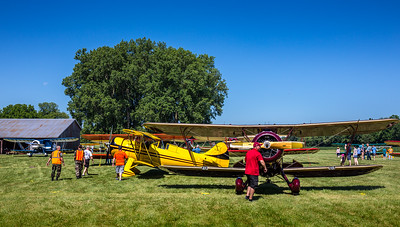 Photographed during WACO Reunion at the Wynkoop Airport in Mount Vernon, Ohio on June 25, 2016. Photo by Joe Frazee.