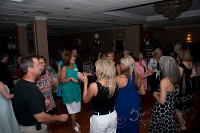 WAHS 1984 25th Class Reunion, Williamsport PA - The dancing begins, we had SO much fun.