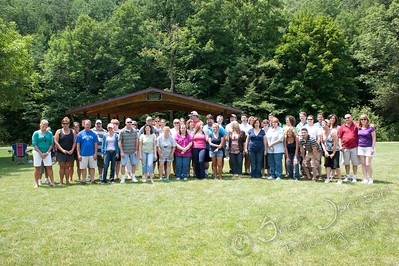 WAHS 1984 25th Class Reunion, Williamsport PA - this is the shot I took before I got in the picture :)
