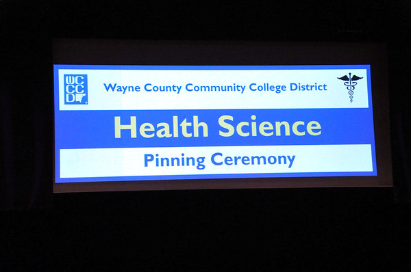 WCCCD, Nurse and Allied Health 2013 Pinning Ceremony