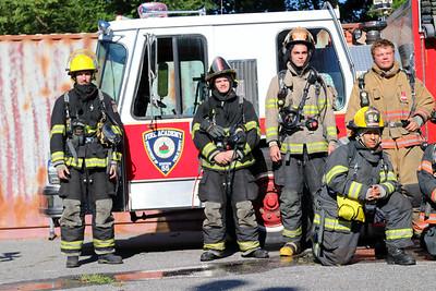 Warren Cuunty Fire Academy FF1 Live Burn Drill