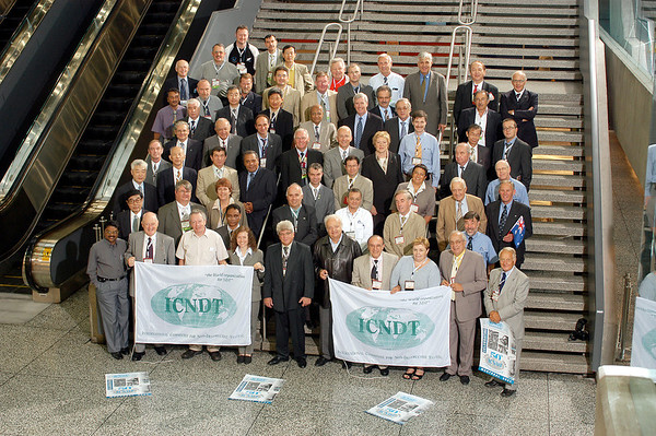 WCNDT Board Meeting and Group Photo