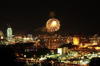 WEBN Fireworks 2010