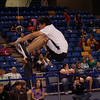 Credit: Chris Harper/FCVB<br /> <br /> A competitor jumps into the air during the Two-Foot High Kick at the 2010 World Eskimo-Indian Olympics.