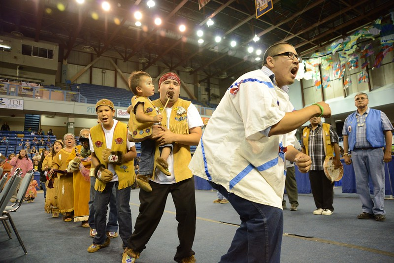 World Eskimo-Indian Olympics in Fairbanks, Alaska.