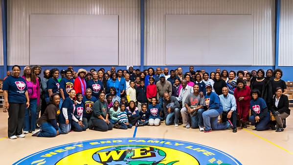 Thanksgiving Basket Outreach 2014