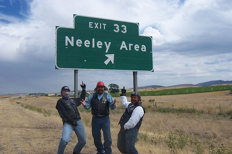 Neeleyville- you can see how impressed Dave & Phil were