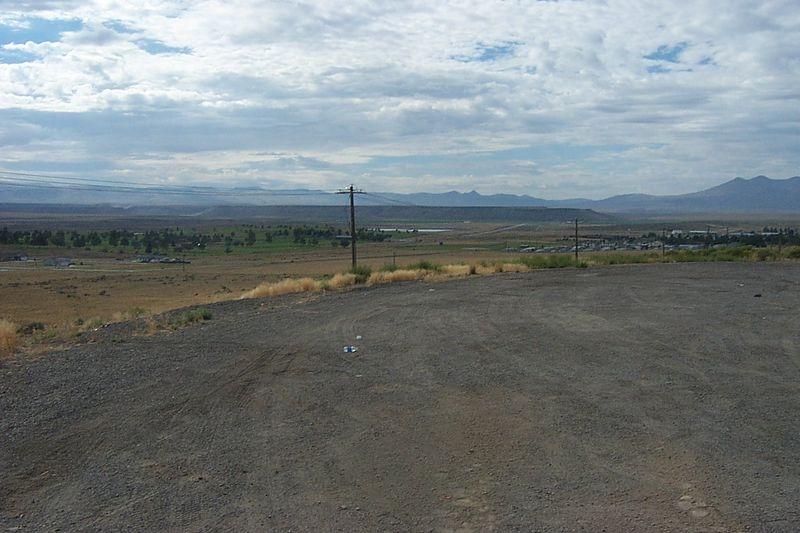 Nevada & Utah in the distance