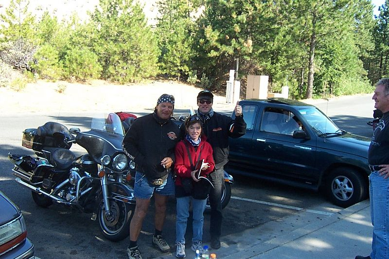 Italian Riders in Donner Pass Area