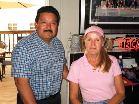 "New Friends Manuel & Bonny Owners of the ""La Cantina"" in San Juan Bautista, Ca."