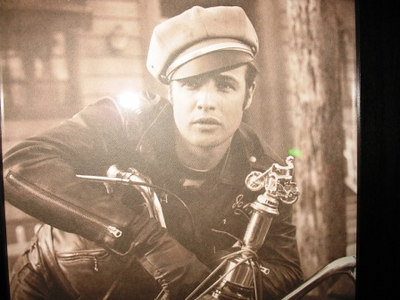 """Brando's famous """"Biker"""" Pic."""