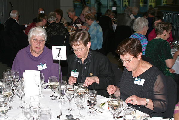 "WGNZ ""Salute to Women's Golf'"" Dinner, Icon Restaurant, Te Papa Museum, Wellington, 31 October 2005"