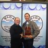 Qld Operator of the Year - Robert Harman, Allconnex Water (R) with John Betts (AWA)