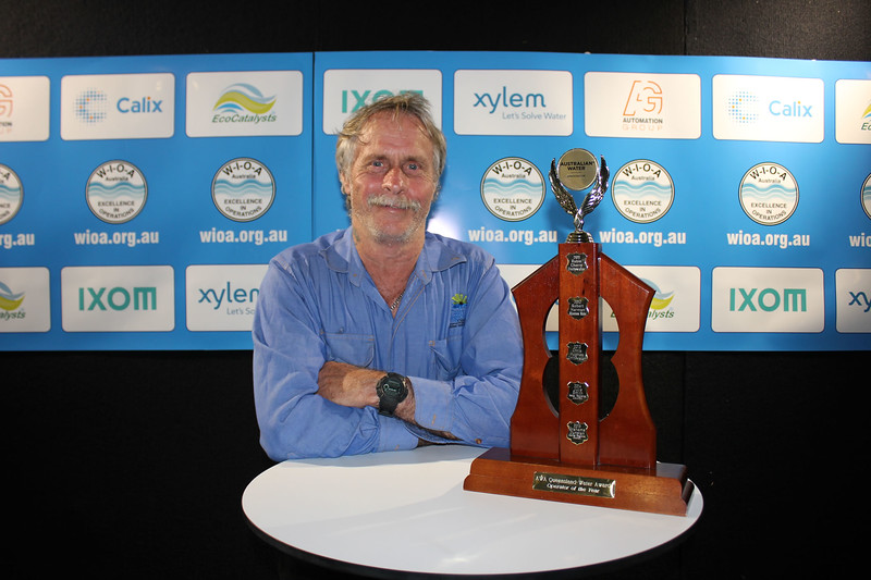 QLD Operator of the Year - Vern Atkinson from Cairns Regional Council