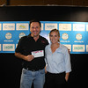 Nalco Water Award for Best Paper by an Operator 2nd - James Castle from UnityWater, with Veronica Watson from Nalco