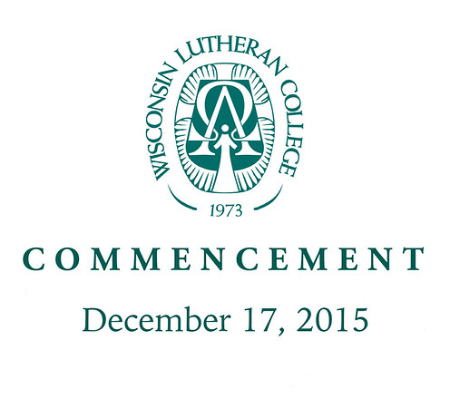 Welcome to the photo galleries for the Wisconsin Lutheran College Fall 2015 Commencement, photographed on December 17, 2015. All photos are now posted. Photos include the processional and recessional as well as the ceremony itself and candid photos throughout the evening. There is also a gallery for the group photo.<br /> <br /> You can order prints and digital downloads directly through this website. Prints will be available in 4x6, 5x7, 8x10 and larger sizes. Mounted and/or framed prints in various sizes will also be available.