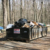 dumpster for 2012 spring clean-up