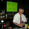 bartending at the Mad Men cocktail party