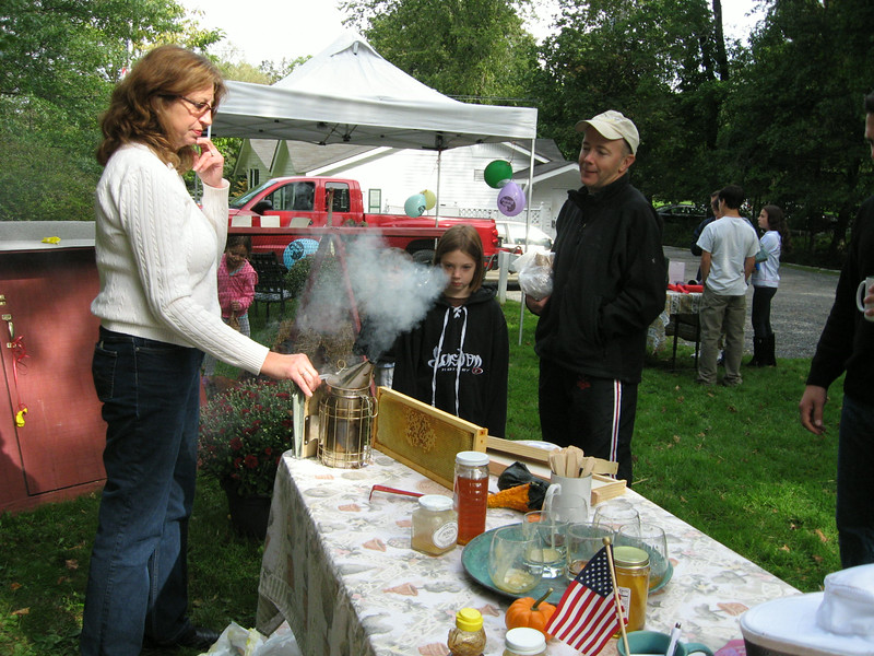 Fall Harvest Festival 2012-bee keeping