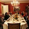 progressive dinner 2013 at the O'Brien's home