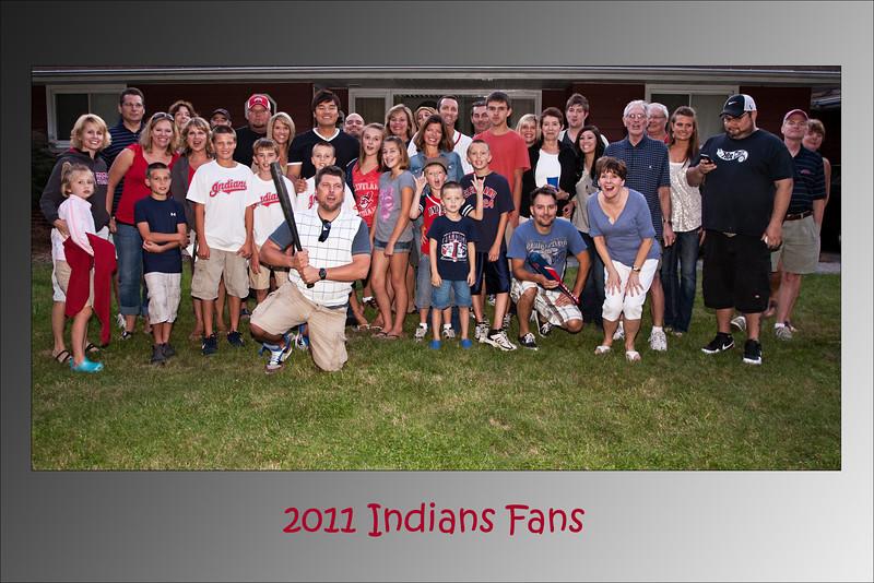 2011 Indians Fans