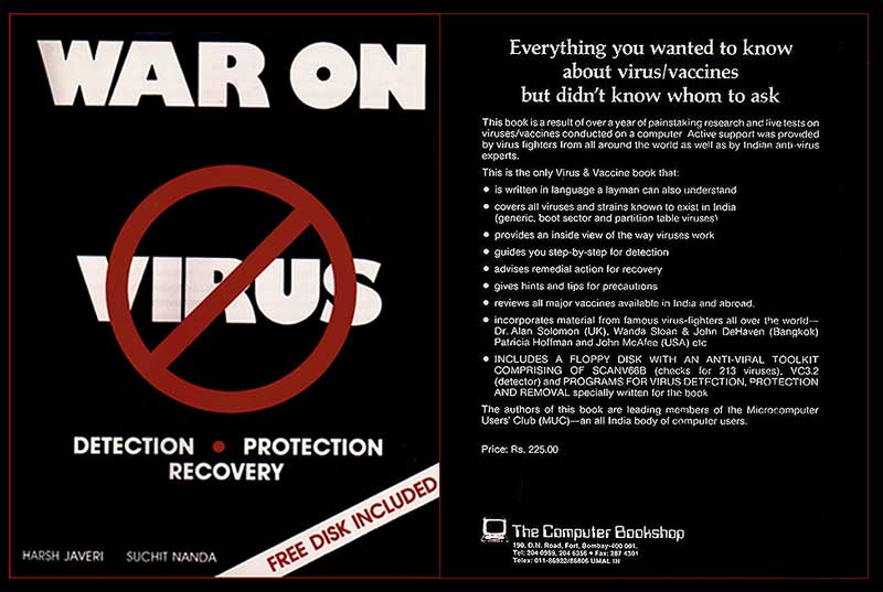 """War on Virus Book Cover  <br />  <a href=""""http://www.waronvirus.com/"""">http://www.waronvirus.com/</a>"""