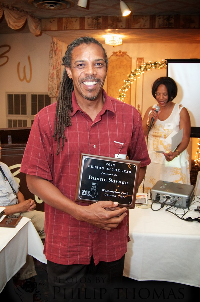 "Duane Savage, voted ""Person of the Year"""