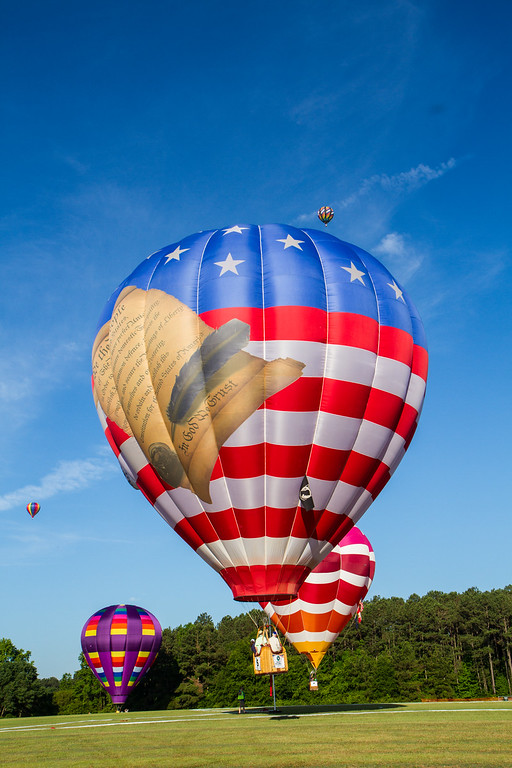 WRAL Freedom Balloon Festival 2016