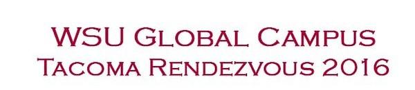 WSU Global Tacoma Rendezvous
