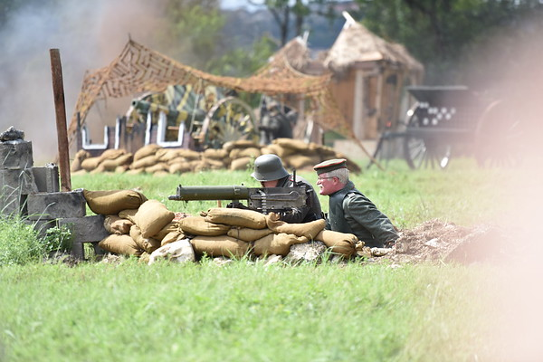 WW One Reenactment - Camp Mabry - Texas Military Forces Museum 2018