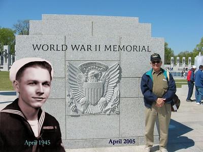 WW2 Memorial Trip 2005