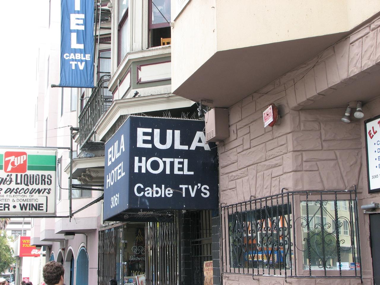 The EULA hotel WWDC 2009