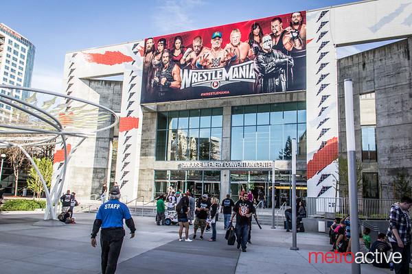 WWE Wrestlemania AXXESS