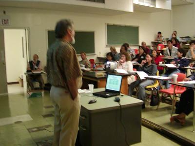 """NIH Grants"" seminar presentation at the University of Guam. Dr. Anthony Coelho, Jr. of NIH is the presenter."