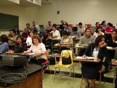 """Write Winning Grants"" seminar presentation at the University of Guam."