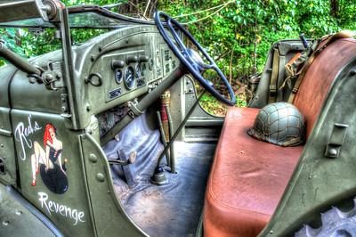 Jeep and Helmet