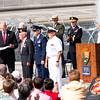 Presentation of medal of service