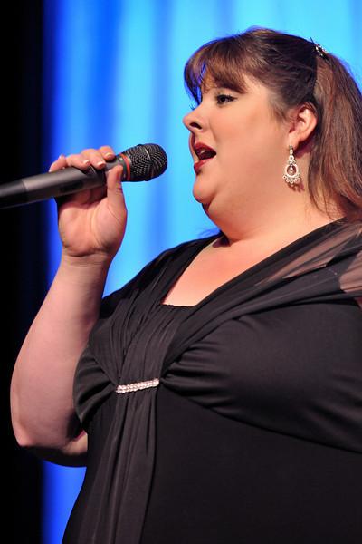 "Way, Way, Way Off Broadway 2010: Joyce Campbell of Borgamaria Lyric Opera sings ""God Bless America"""