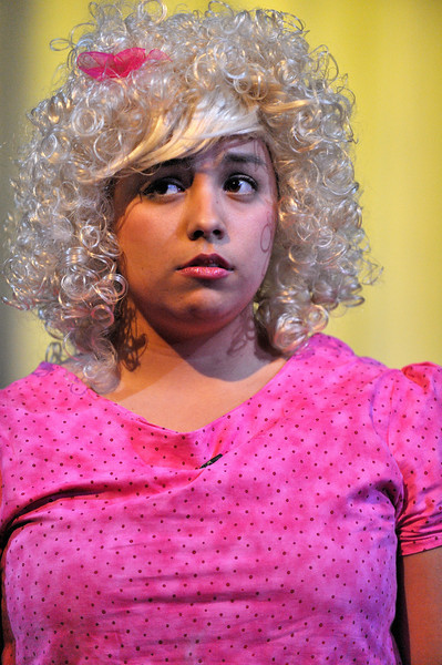 """Way, Way, Way Off Broadway 2010: Allison Tinajero from River Valley High School performs """"My New Philosophy"""" from You're a Good Man Charlie Brown"""