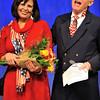 """DSC_8620 Linda Plummer (with Paul DeMeritt) receives the """"Don"""" Award"""