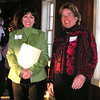 former WLC presidents, Laura Glading (2007-2008) and Anne Hardy (2005-2007)