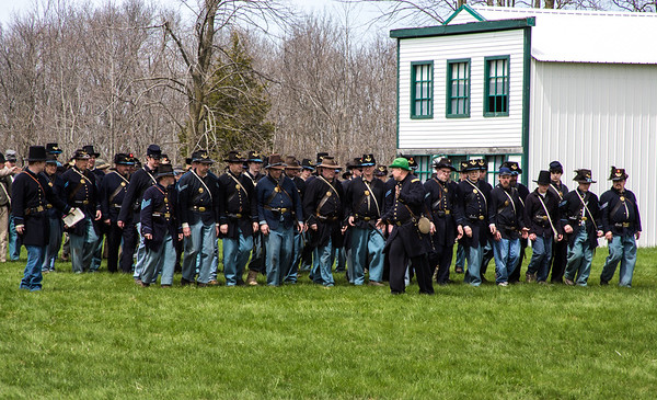 Wade House Spring Muster